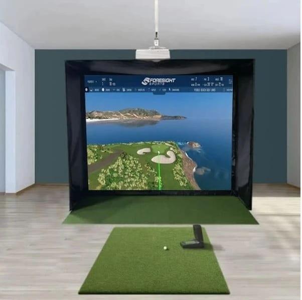 GC2 SwingBay Golf Simulator