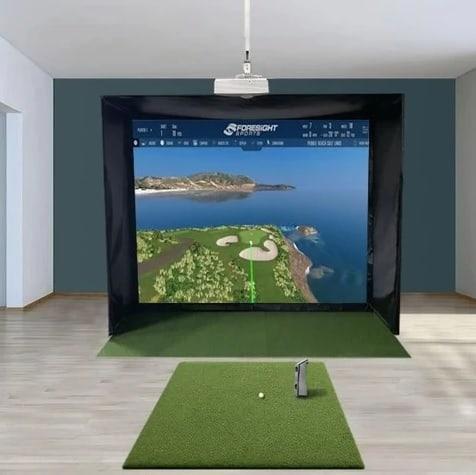 GCQuad SwingBay Golf Simulator