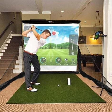 SkyTrak Budget Golf Simulator