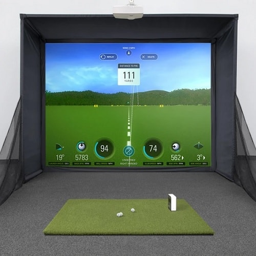 SkyTrak SwingBay Golf Simulator
